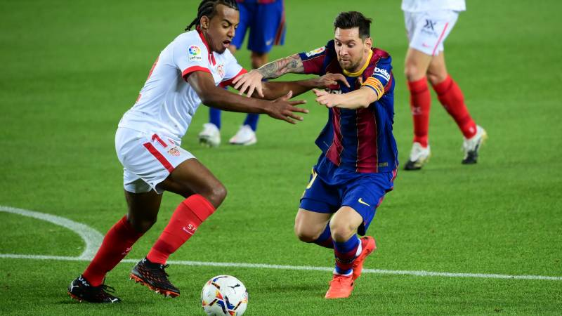 Barca held by Sevilla as Real Madrid see off Levante