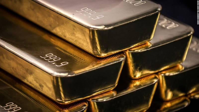 Gold price shoots up by Rs800 in Pakistan