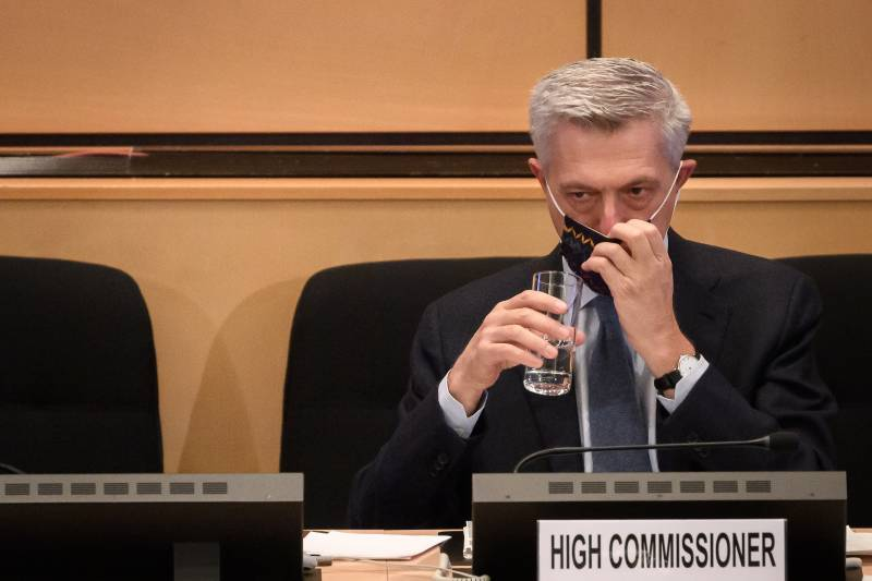 UN refugee chief tests positive for Covid-19