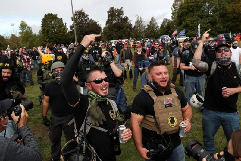 White supremacists, anarchists major US terror threats: DHS