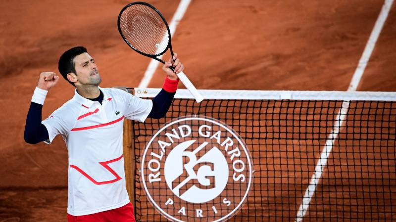 Djokovic confronted again by pressures of Paris