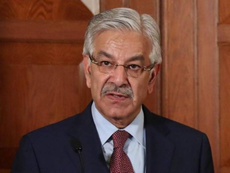 Khawaja Asif doesn't appear in person, satisfies NAB with SC ruling