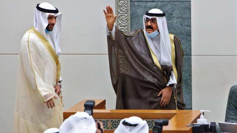 Kuwait\'s new crown prince sworn in at parliament