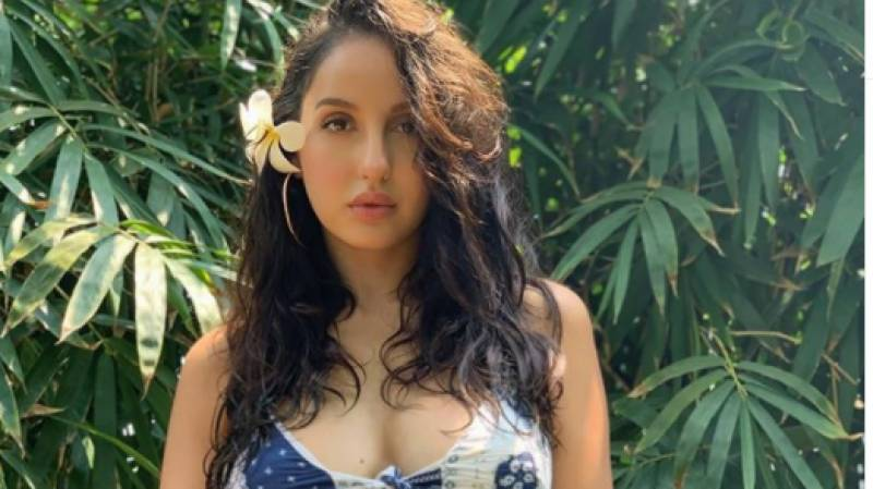 Nora Fatehi's new beach dance video goes viral