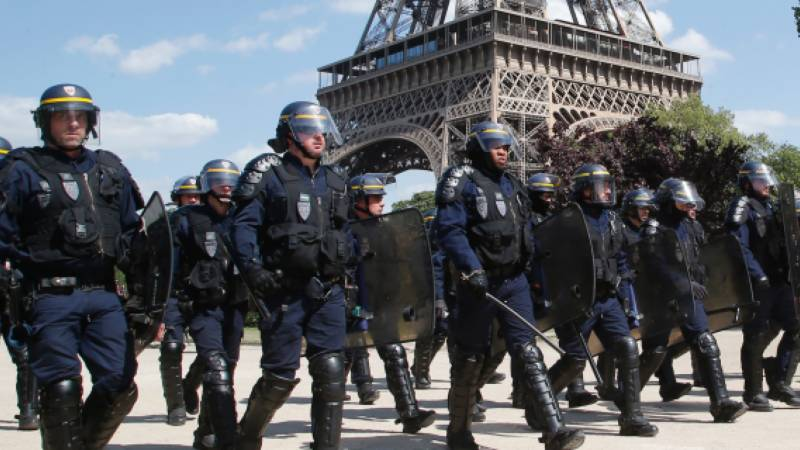 Outrage after French police shot in surprise attack