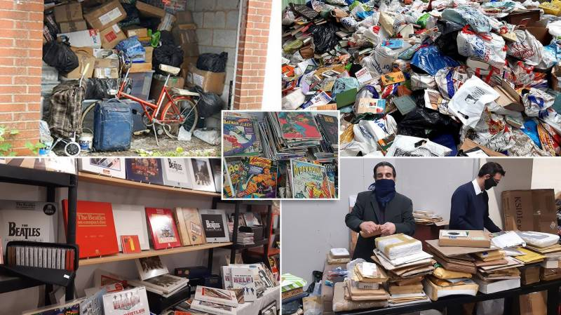£4m stash of UK's 'largest hoarder' to go on sale