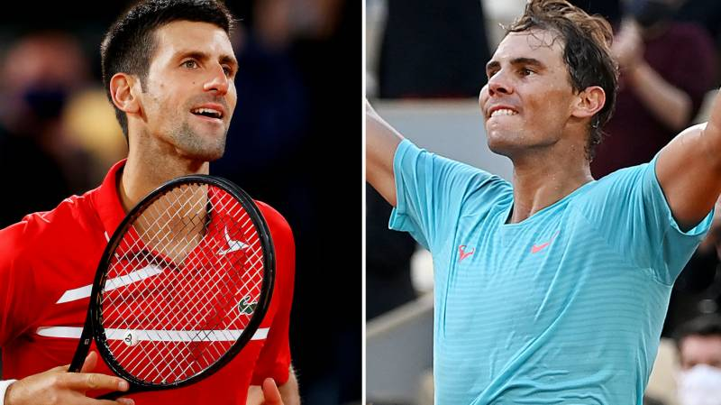 Djokovic to face Nadal in French Open final blockbuster