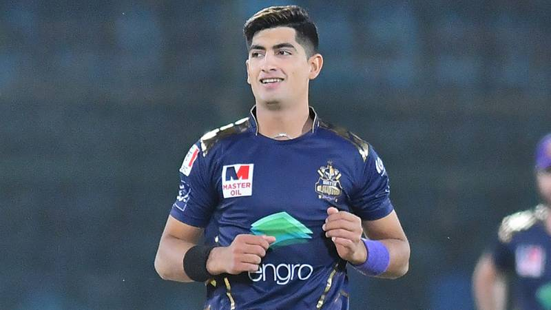 Naseem Shah out of National T20 Cup due to groin niggle
