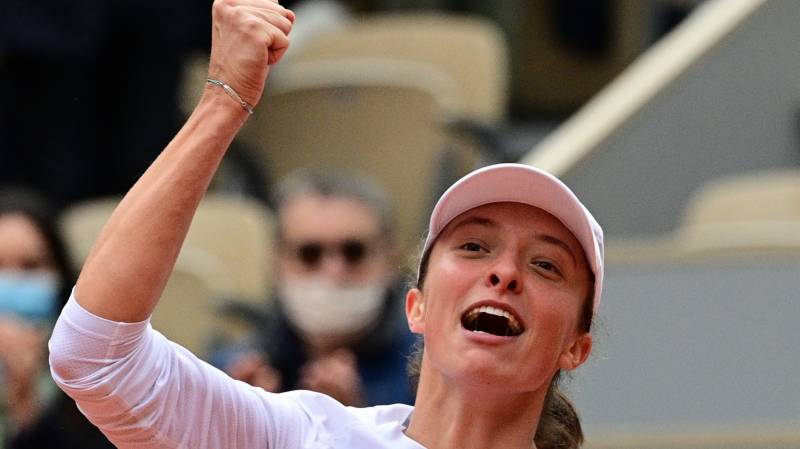 Swiatek wins French Open to become Poland's first Grand Slam singles champion