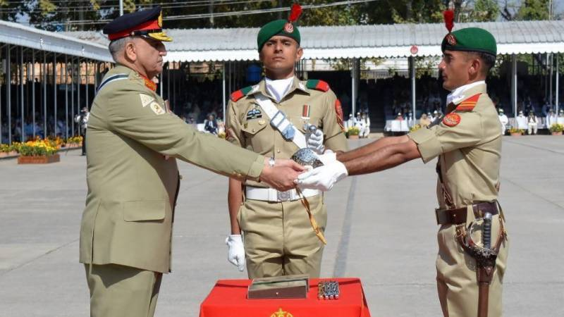 15 cadets of 142nd Long Course from FATA, 54 from Balochistan