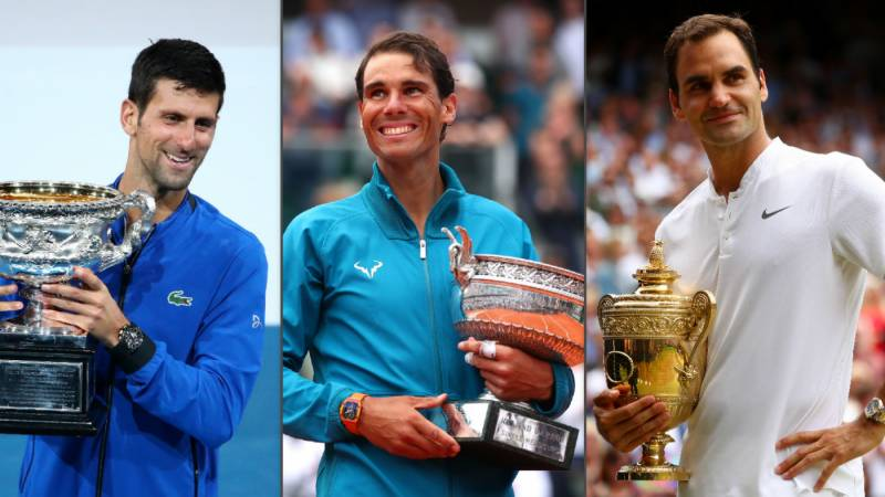 Age just a number for Nadal, Federer and Djokovic