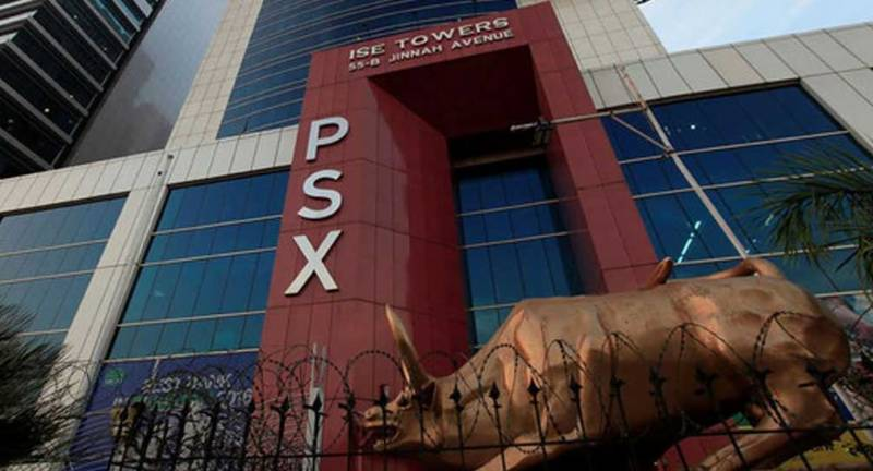 KSE-100 Index down 588 points in a spectacular plunge