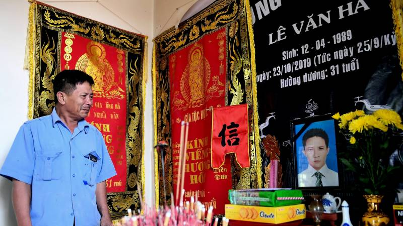 'I don't blame anyone': Vietnam truck tragedy families speak out one year on
