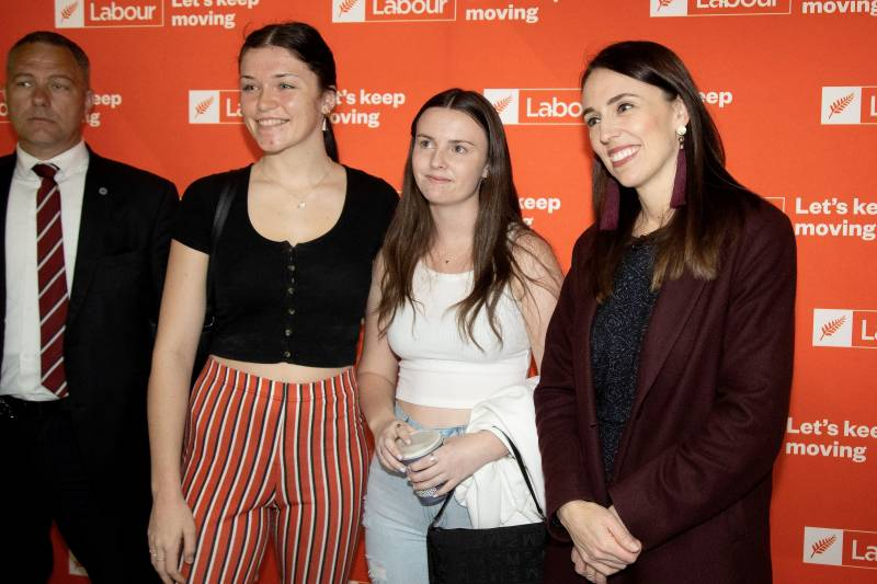 Ardern set to win in New Zealand's 'Covid election'