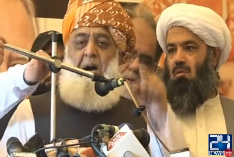 Have rebelled against 'reign of rigging', says Fazl