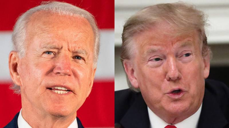 Biden gains solid ground over Trump: Poll