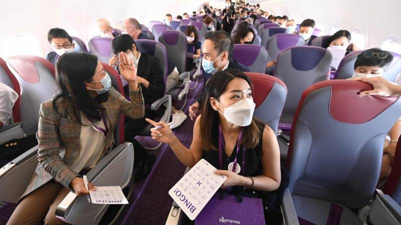 Hong Kong budget carrier joins 'flights to nowhere' trend