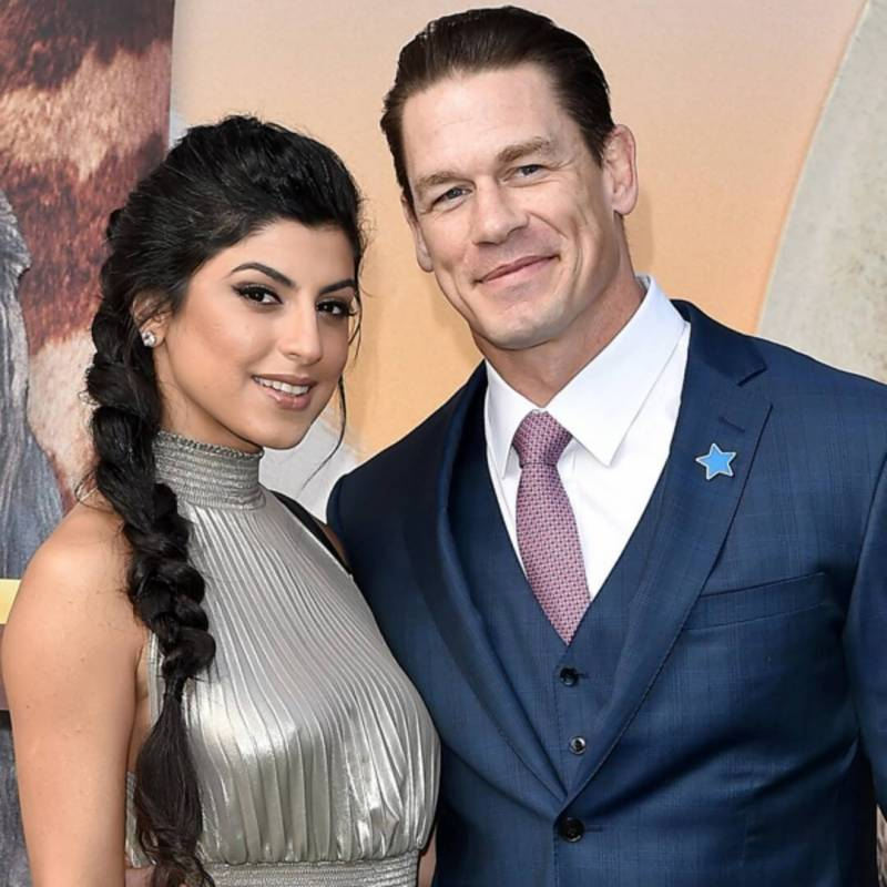 John Cena gets married to Shay Shariatzadeh