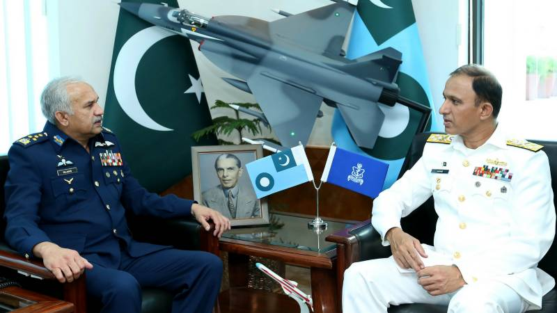 Newly-appointed Chief of Naval Staff calls on Air Chief Marshal