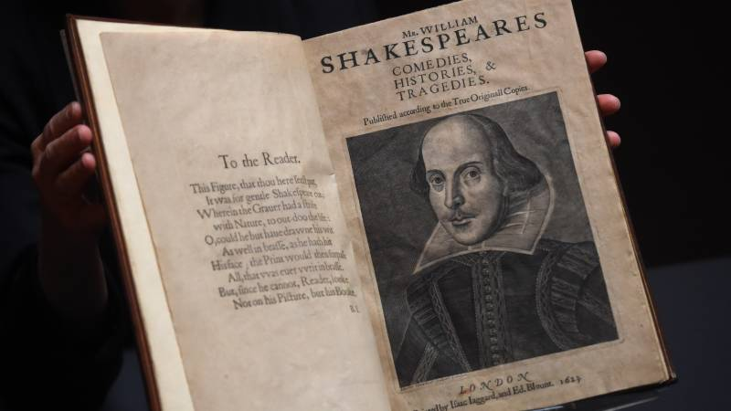 Shakespeare First Folio sold for record $10 million