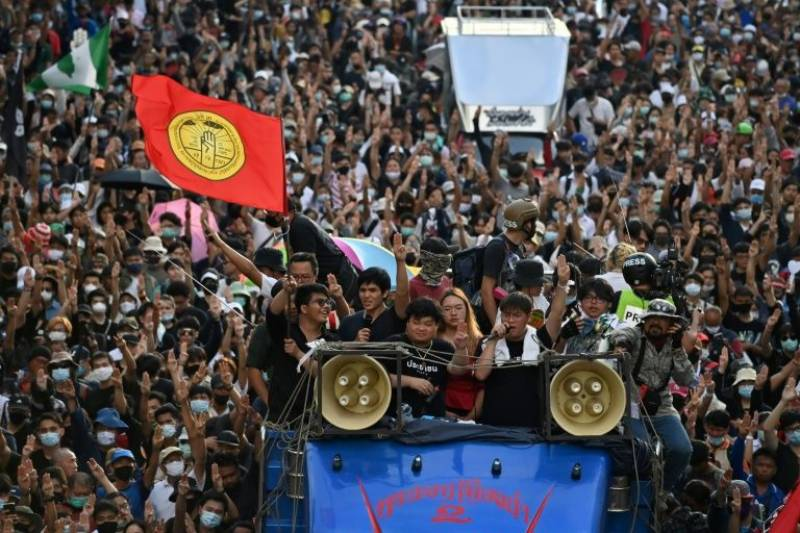 Thousands rally for Thai PM to quit as tensions rise over calls for royal reform