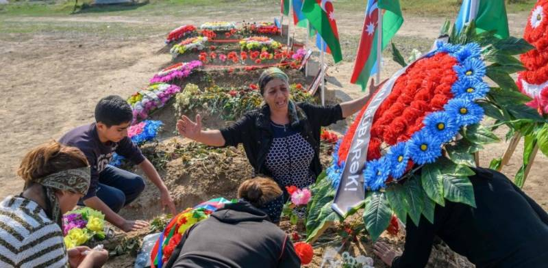 Grief and pride: Azerbaijani family mourns lost soldier