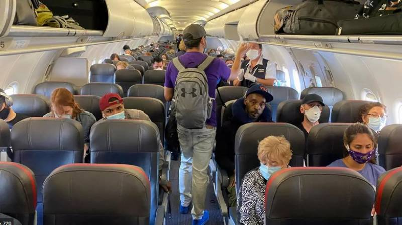 Low risk of Covid infection on planes if masks worn: Study