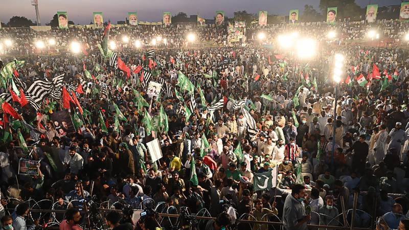 Gujranwala gathering in pictures