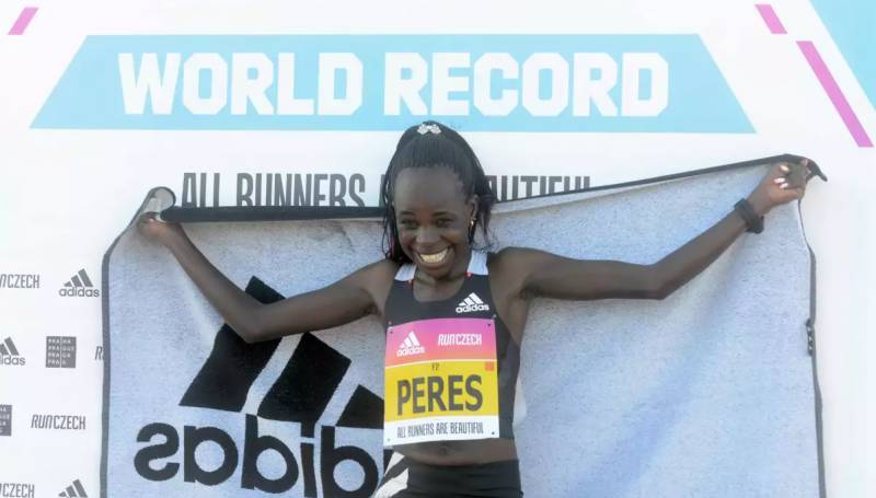 Jepchirchir wins women only half-marathon in record time