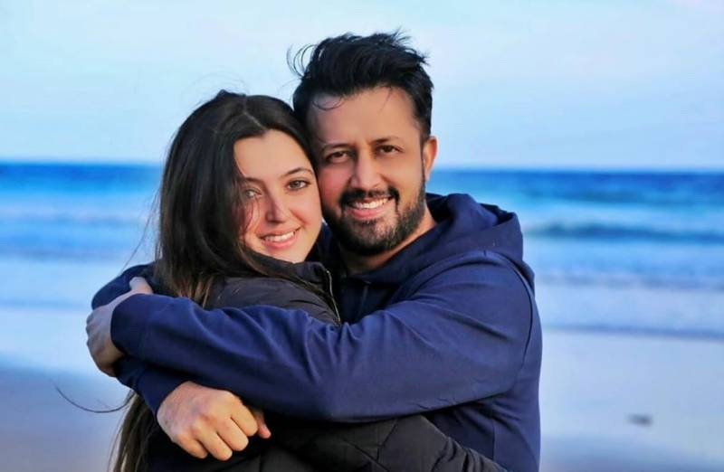 Atif Aslam celebrates his wife's birthday with family, friends