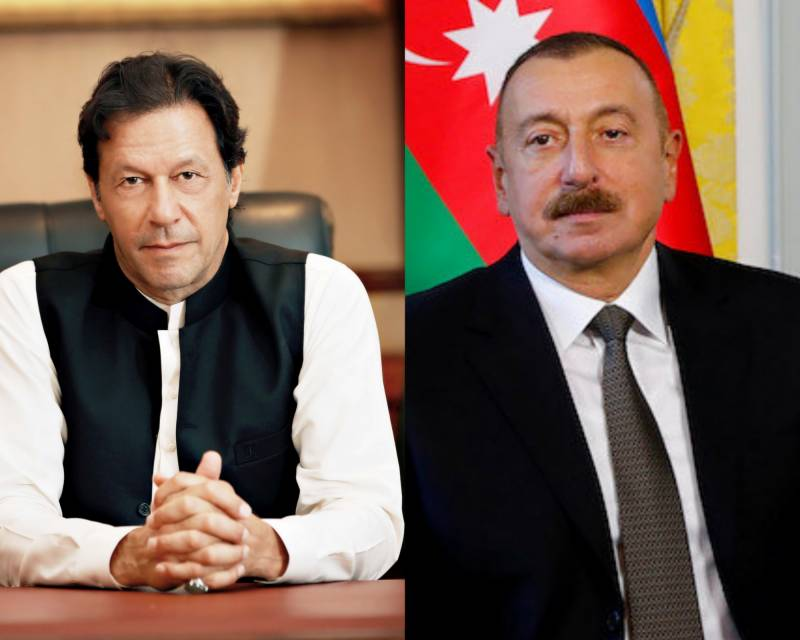 Pakistan stands with Azerbaijan forces, says PM Imran