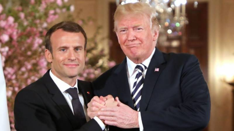 Trump gaffe demotes France's Macron