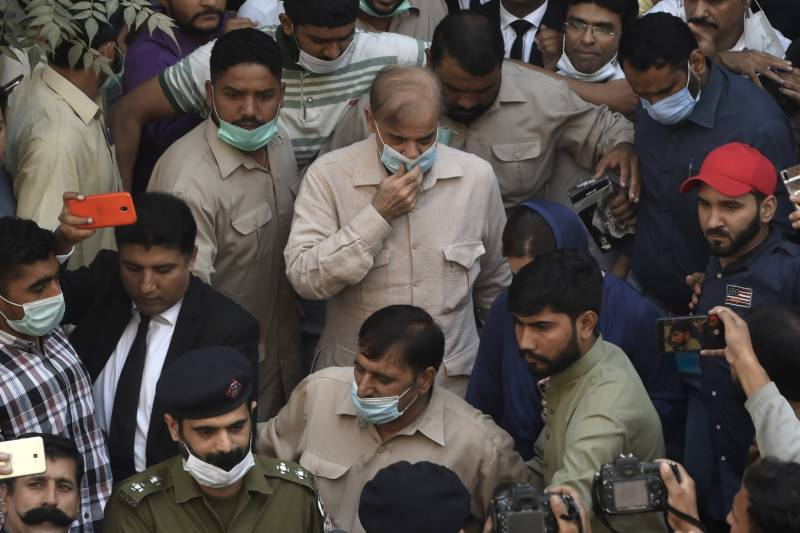 Shehbaz sent on judicial remand, says spent 22 days in torture cell