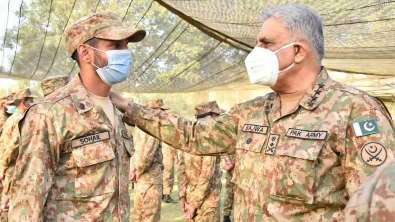 COAS vows to protect local population along LoC