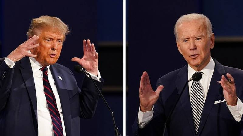 In US election with record spending, Biden is out-advertising Trump