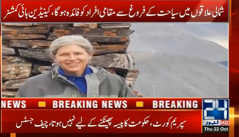 Canadian envoy falls in love with northern Pakistan's beauty