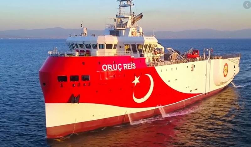 Turkey extends contested gas mission in eastern Med