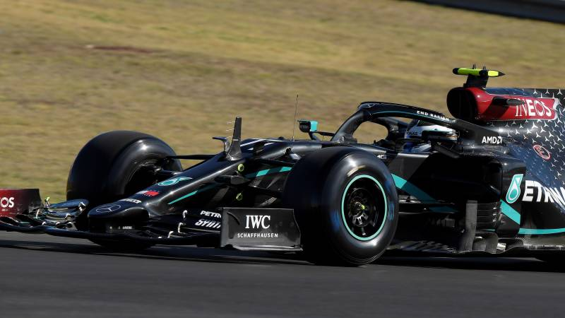 'Fastest on Friday' Bottas tops incident-packed Portuguese GP practice