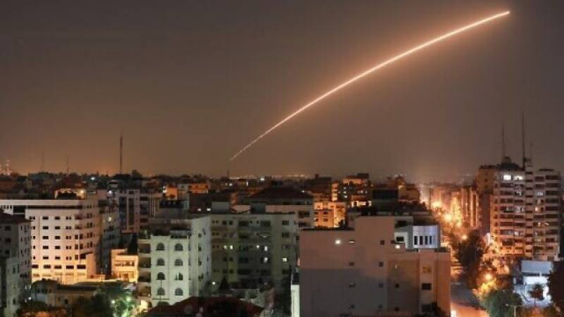 Israel says two rockets fired from Gaza