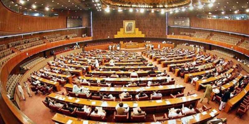 Opposition walks out of Senate over CPEC Authority, Sindh Islands