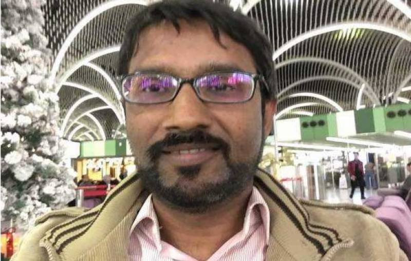 Abducted TV reporter Ali Imran returns to home in Karachi