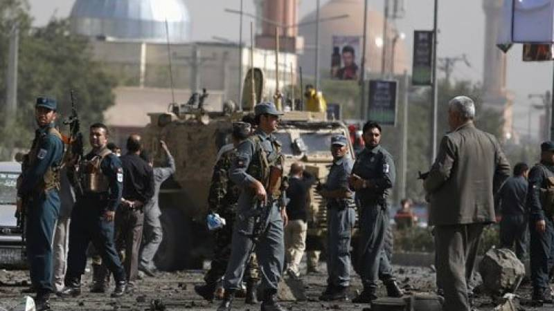 Suicide bomber kills 18 in Afghan capital