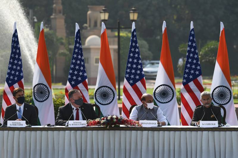 After cornering India with China threats, US signs satellite data pact