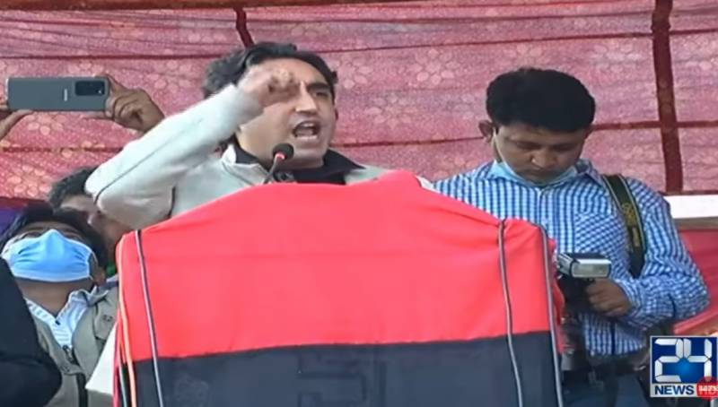 Bilawal again warns of Islamabad protest if GB polls are rigged