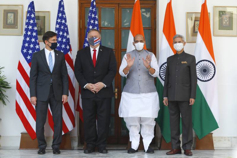 Pompeo pushes closer ties with India to counter China