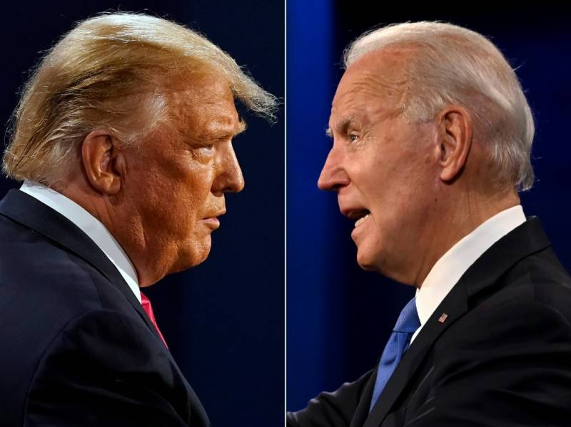 Trump and Biden wage unexpected duel in Georgia