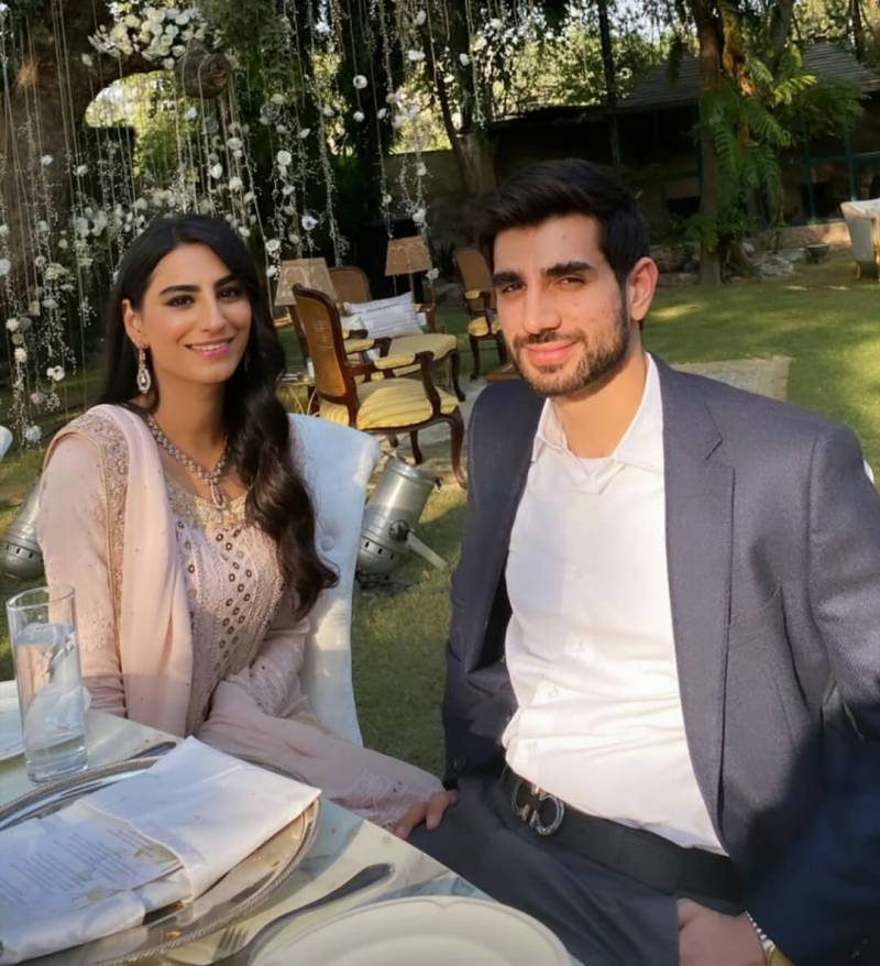Actress Rehmat Ajmal is engaged