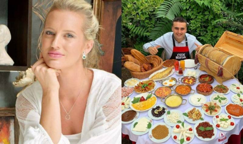 Shaniera Akram invites Turkish chef Burak Özdemir at her place