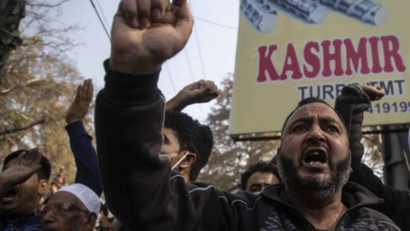 Three from India ruling party killed in Kashmir attack