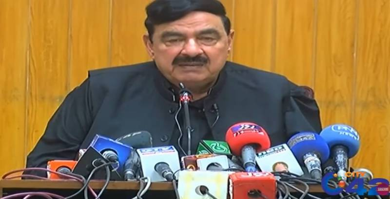 Sheikh Rashid asks Opposition not to fight with State